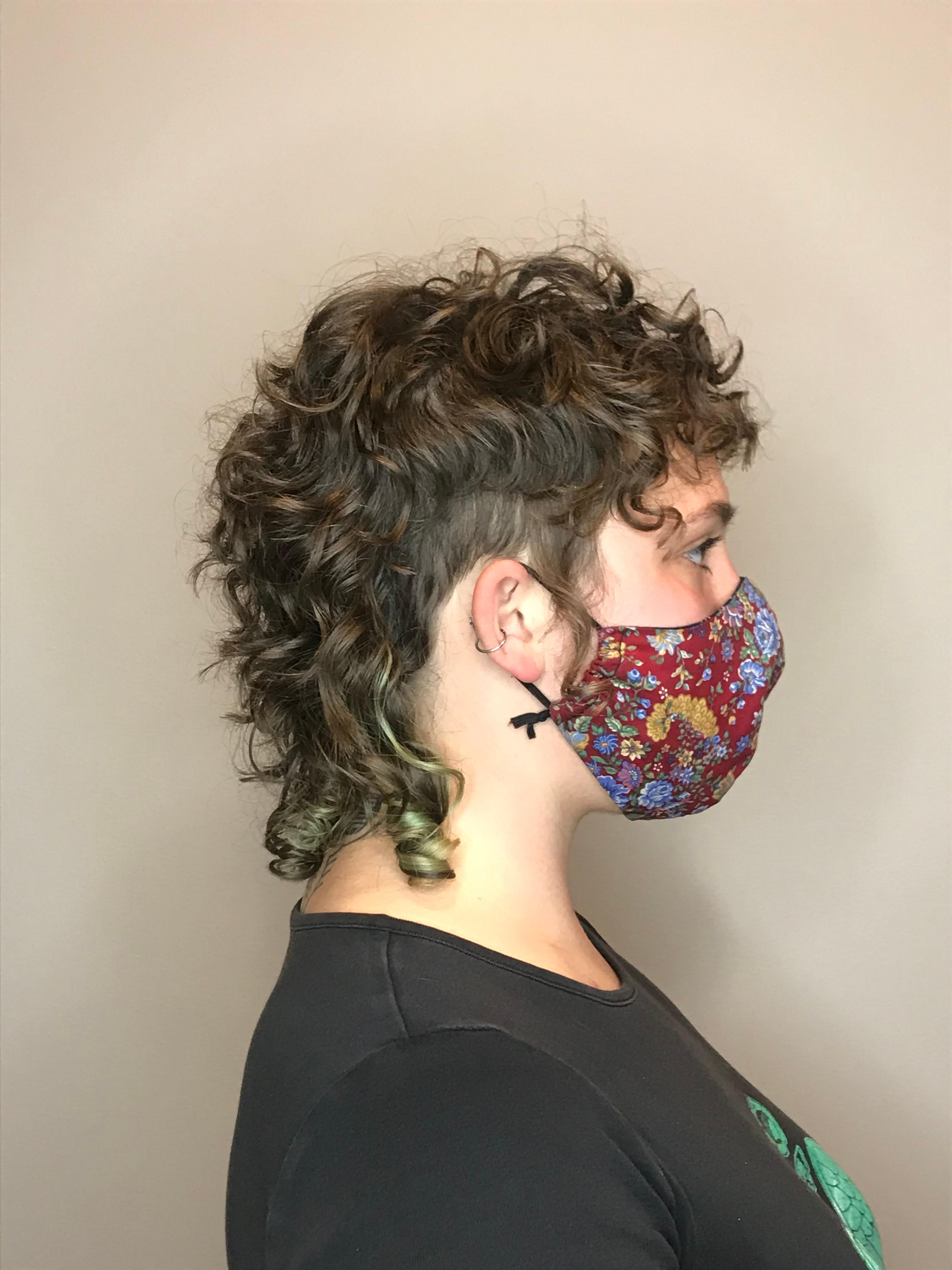 Curly Cut w/ Cassandra