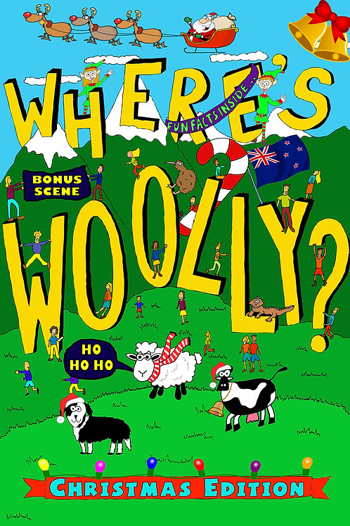 Where's Woolly? Christmas Edition