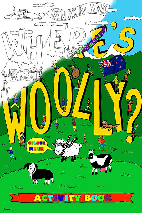 Where's Woolly? Activity Book