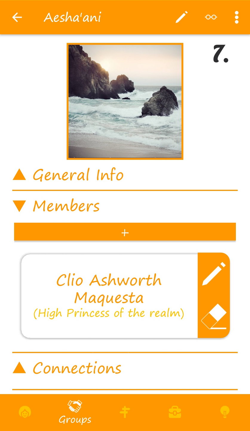 7. Group detail page (w. Membership added)