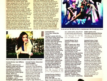 Previewed in the Metro!