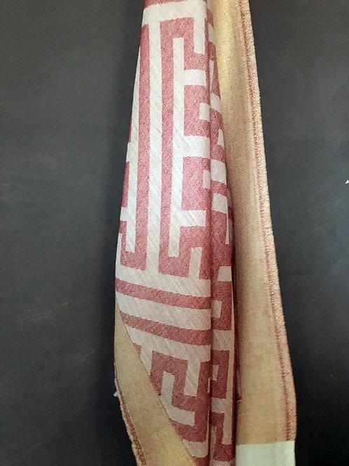 114/2 - Geometric scarf