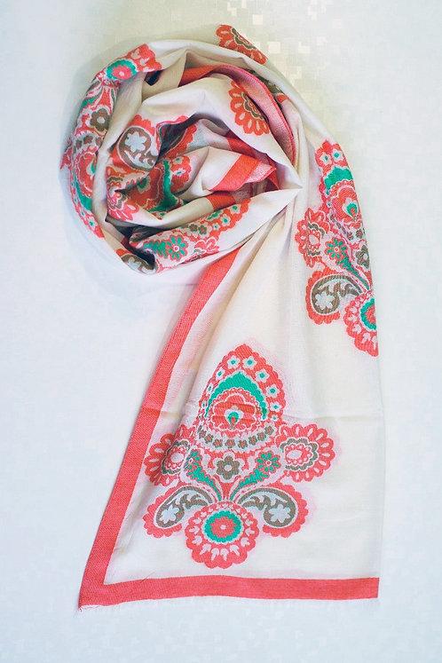 105/1 - Printed scarf
