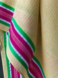 138/1 - Stripe border scarf