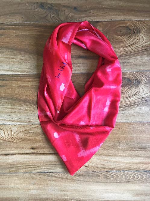 132/2 - Silk square scarf