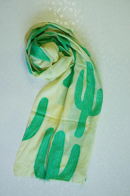 133/1 - Cactus print scarf