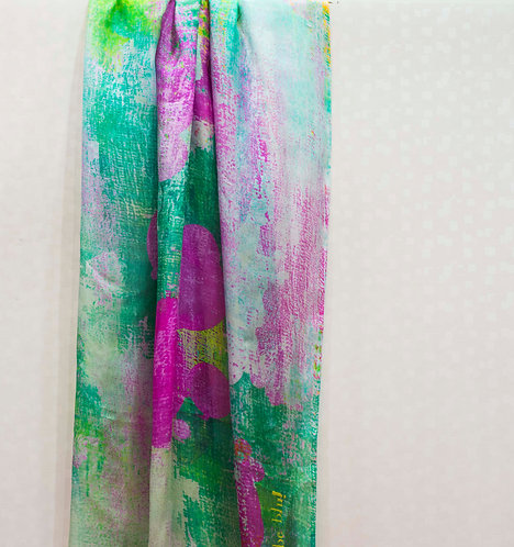 127/1 - Silk scarf