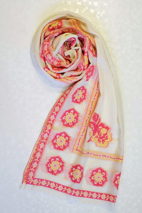106/1 - Printed cotton scarf