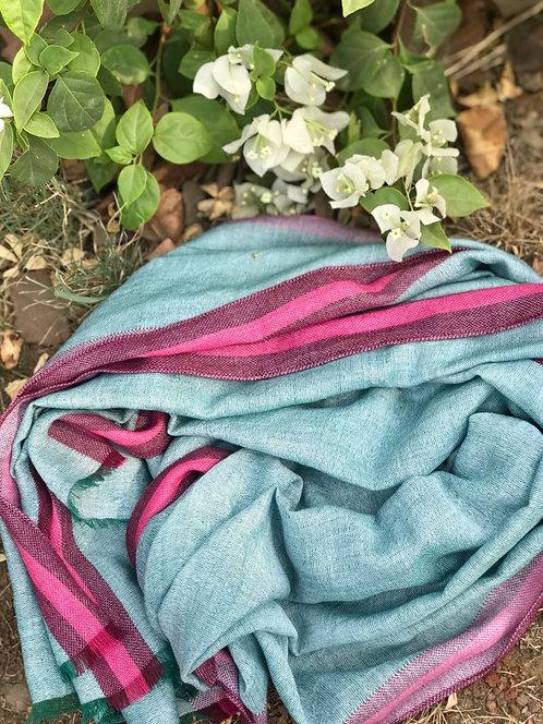 139/1 - Stripe border scarf