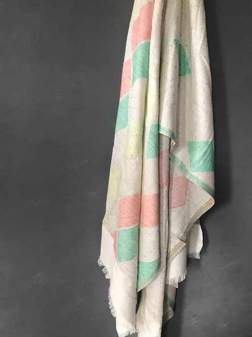 122/2 - Geometric scarf