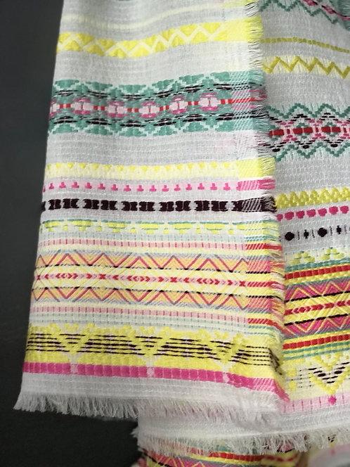 140/1 - Cotton/acrylic scarf