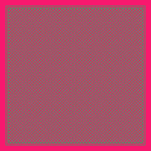 142/4 - Silk square scarf