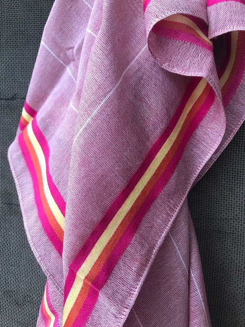 137/2 - Stripe border scarf