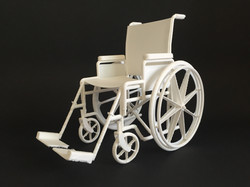 Mock Up Cadeira de Rodas