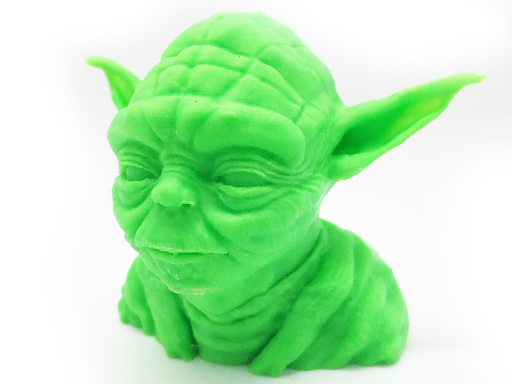 Yoda impresso em 3D