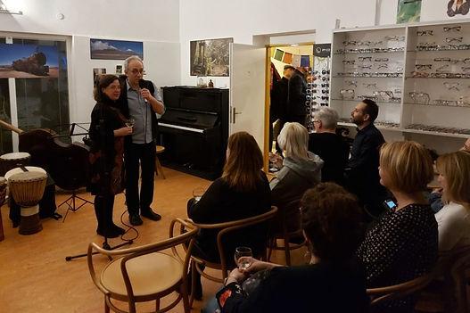 Akce, koncerty, přednášky v Optice Policar