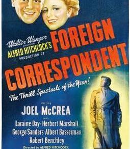 Movie Suggestion #16: Foreign Correspondent (1940)