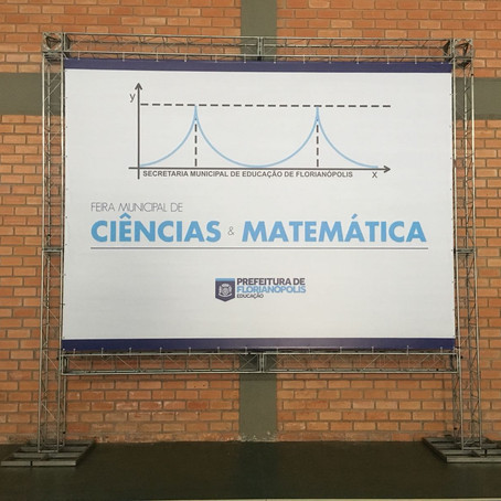 Feiras de Matemática e Ciências acontecem amanhã, aberta à comunidade da região de Florianópolis