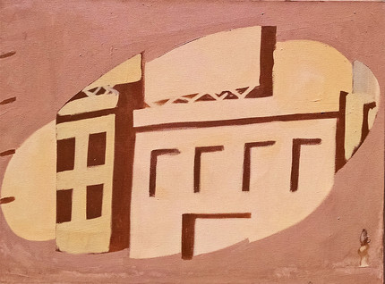 Untitled Buildings 1989