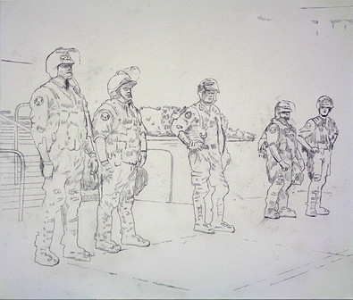 Study for Crowd Control 2014