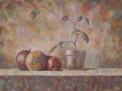 Still Life with Father Perry Plant 1980