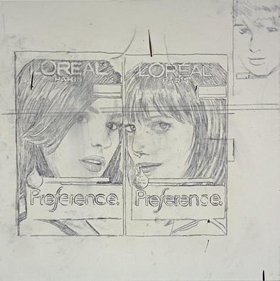 Study for Three Girls 2013