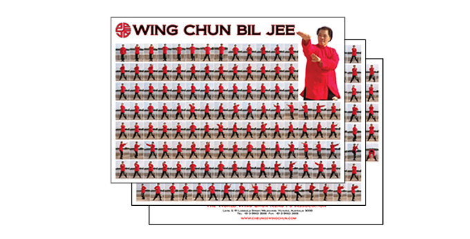 Posters - Wing Chun Bil Jee