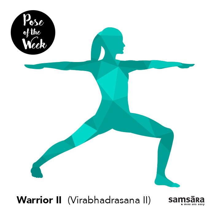 Warrior II (Virabhadrasana II)
