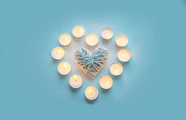 Heart Candles Beauty