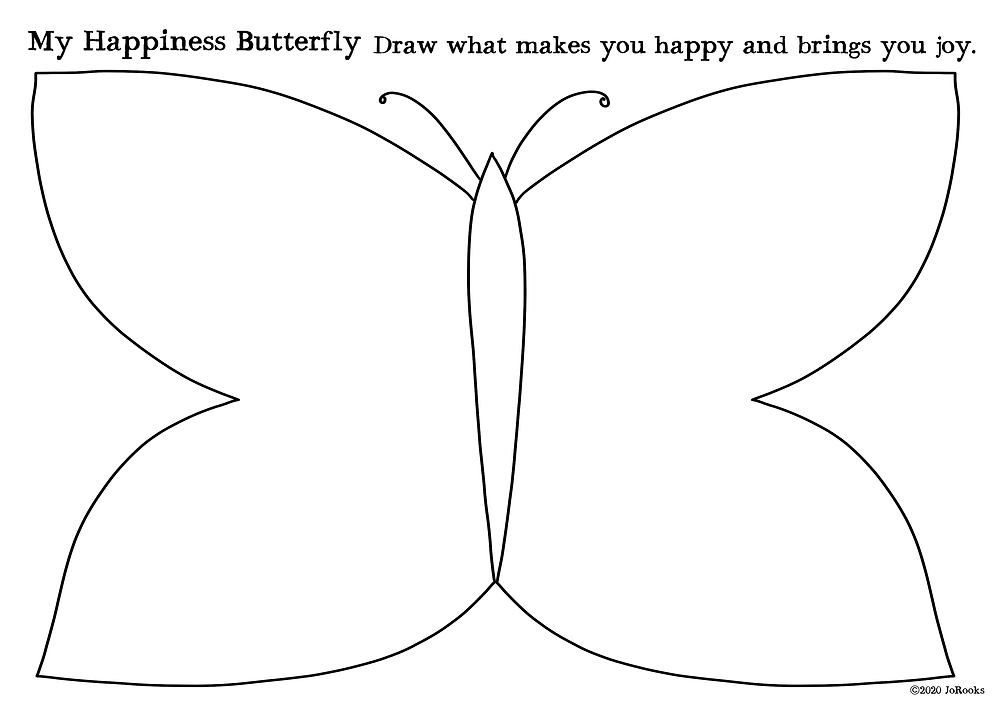 My Happiness Butterfly