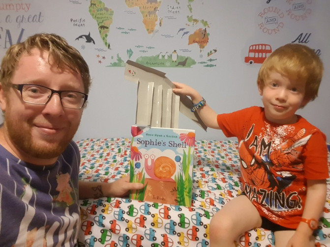 A great review from 'Father Reading Every Day' for 'Sophie's Shell'!