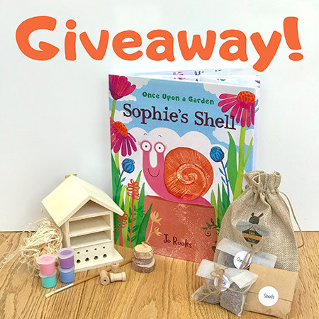 Sophie's Shell Giveaway time!