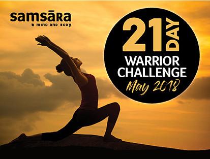 samsara 21 day warrior challenge