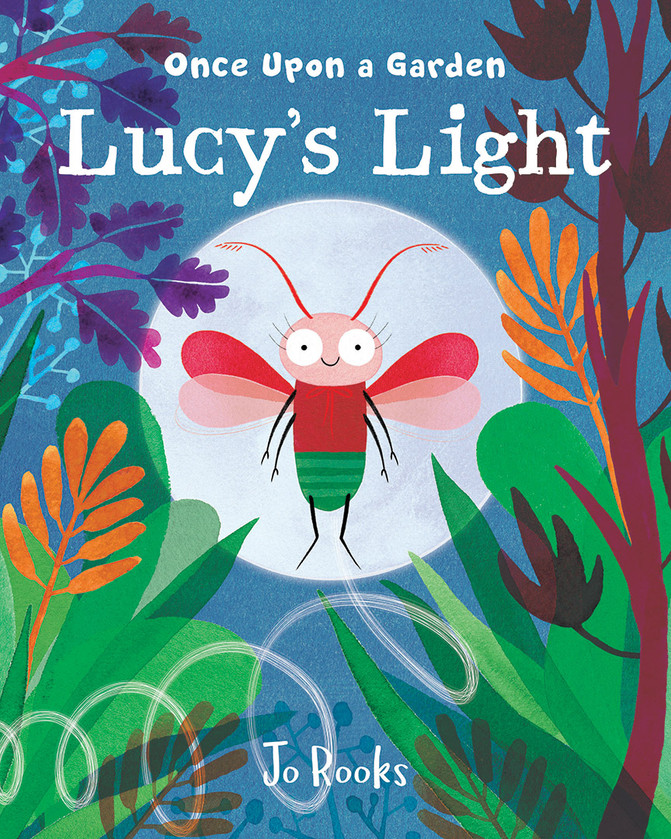 Jo reads 'Once Upon a Garden - Lucy's Light'