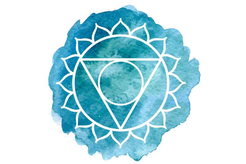 Vishuddha symbol