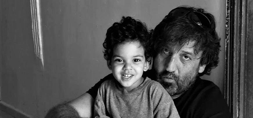 Con la pequeña Ahmed en la NAD.