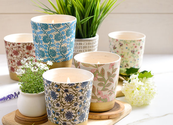 Floral Decal Tumblers