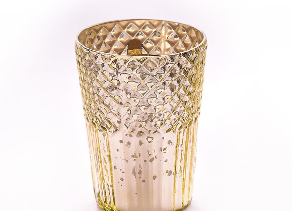 Gilded Two Tone Jar