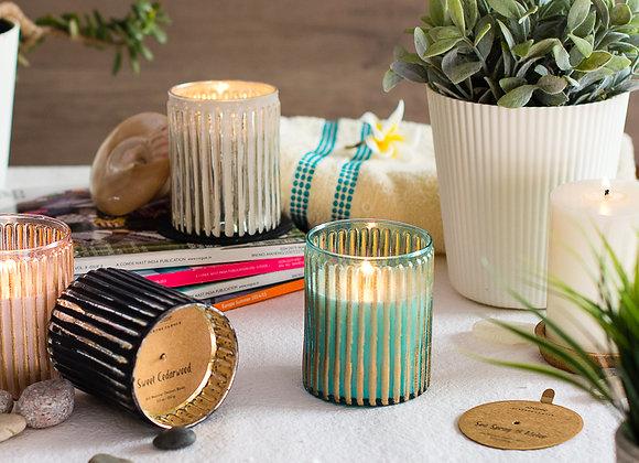 Striped Sunset Jars