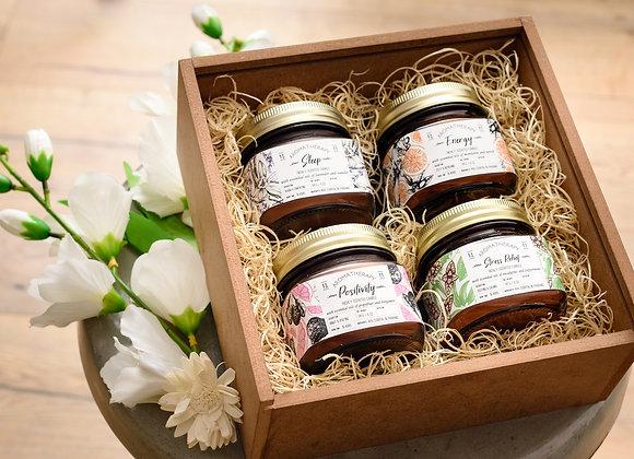 5 Oz Amber Jar Candle - Custom