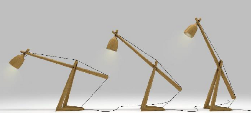 Luminária NTE / NTE Table Lamp