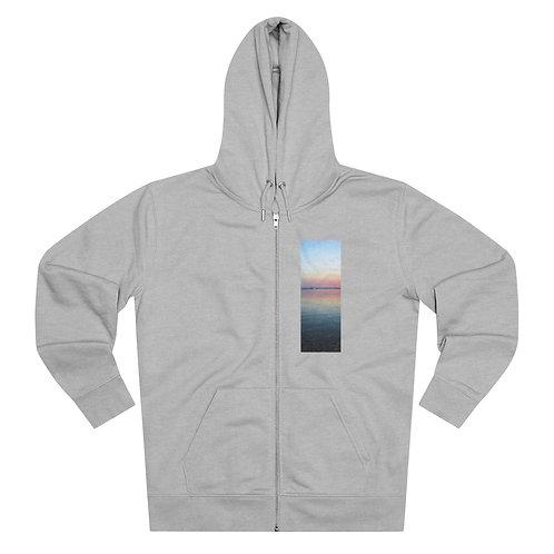 Organic Zip Hoodie: Sunset