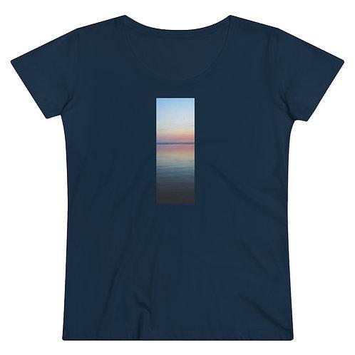 """""""Zen Sunset"""" Organic Women's T-shirt"""