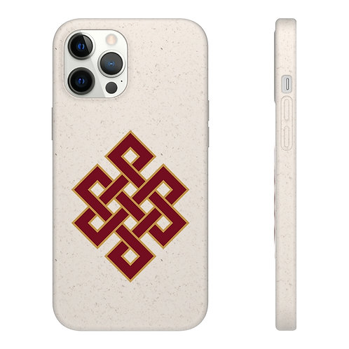 Infinity Knot Biodegradable Case