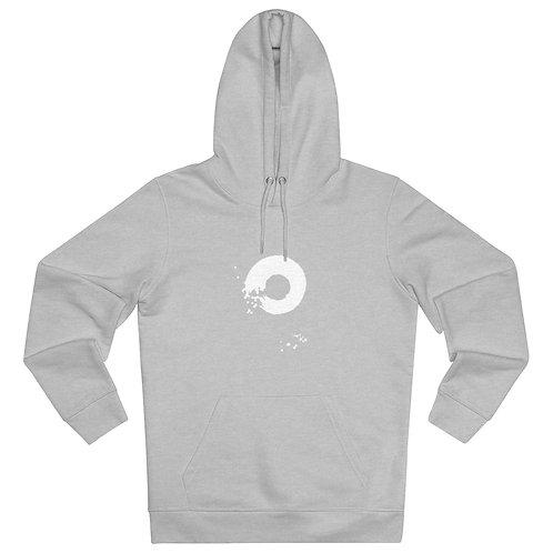 Organic Hoodie: White Enzo