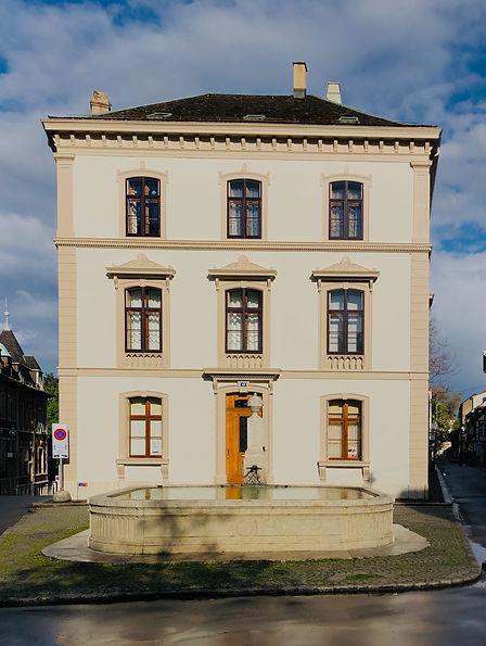 Haus «Zum Schöneck», St. Alban-Vorstadt 49, 1840-1844 Melchior Berri
