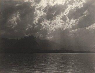 Alfred Stieglitz: On Lake Thun, 1887