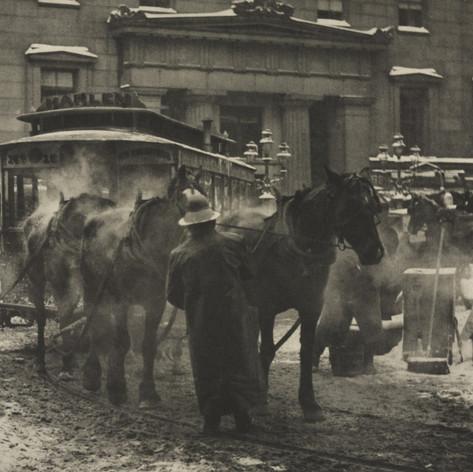 Alfred Stieglitz: The Terminal, 1893