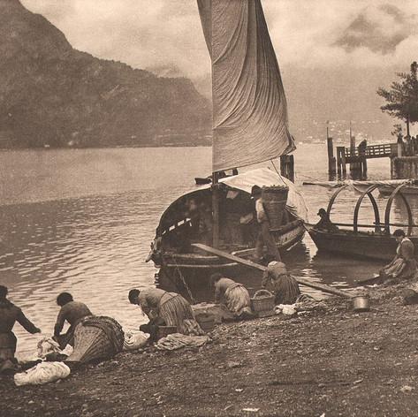 At lake Como (1887)