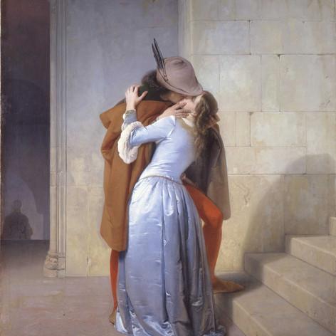 Francesco Hayez, Der Kuss, 1859, Piacoteca di Brera